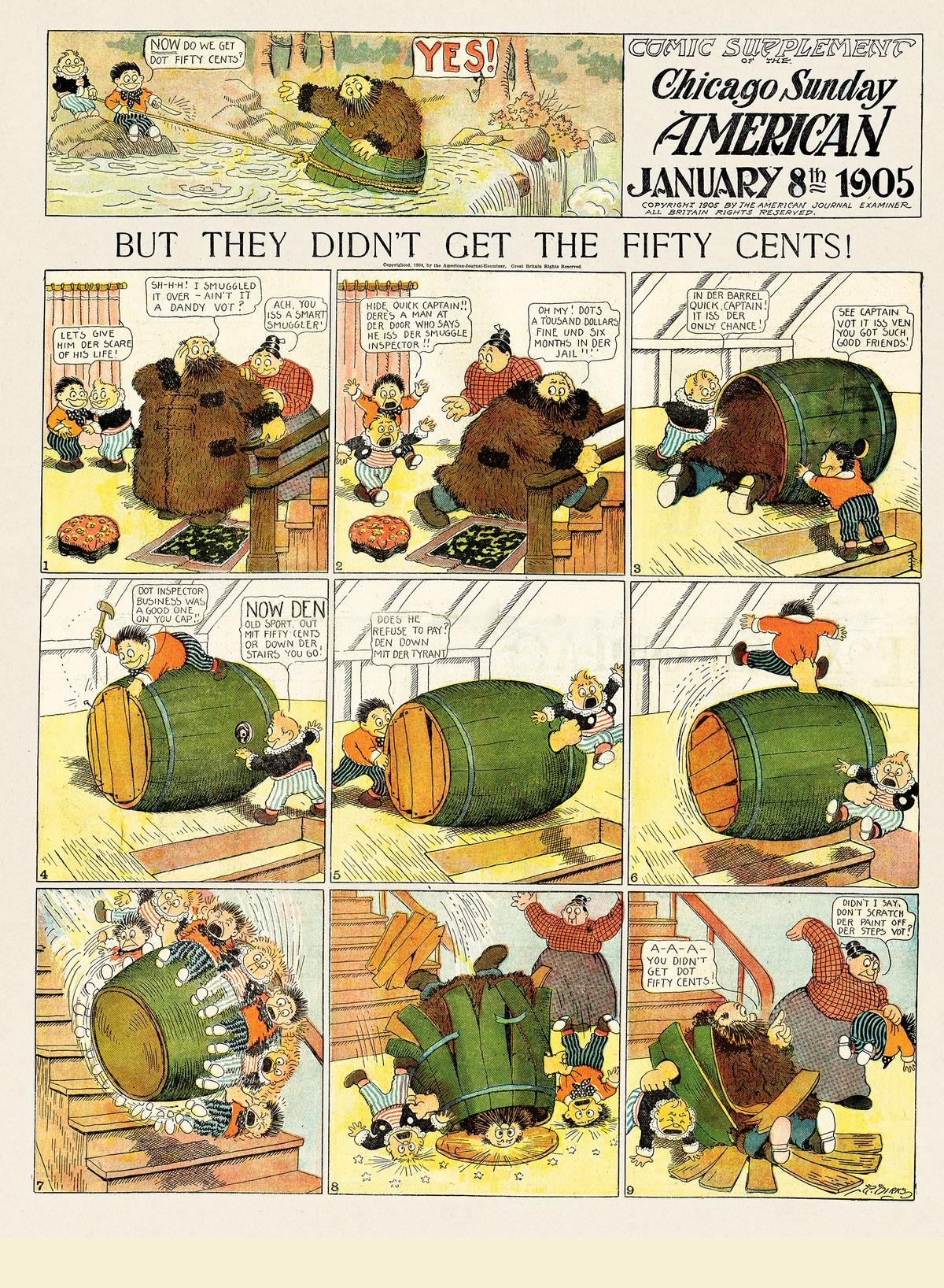 Origins of the Sunday Comics Comic Strip for October 18, 2020