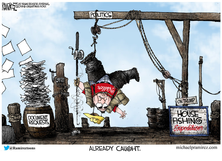 Michael Ramirez by Michael Ramirez for March 12, 2019