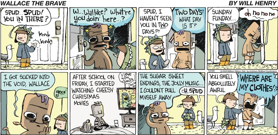 Wallace the Brave Comic Strip for December 20, 2020