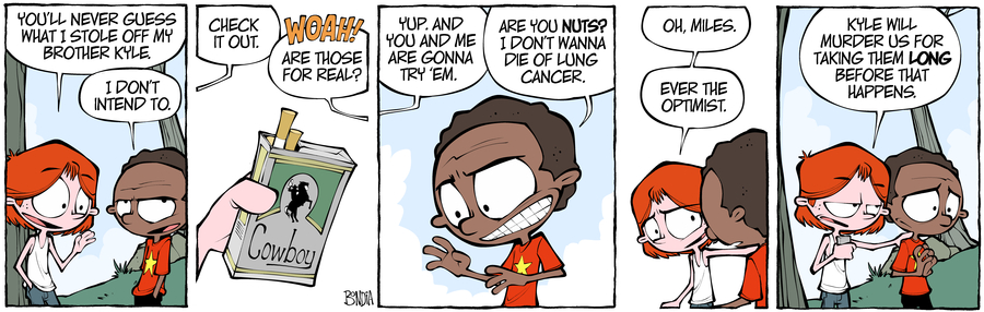 Crabgrass Comic Strip for October 23, 2019