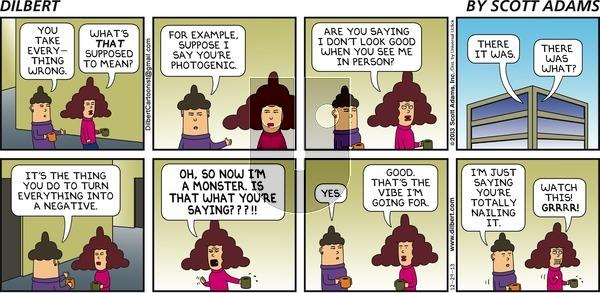Dilbert - Sunday December 29, 2013 Comic Strip