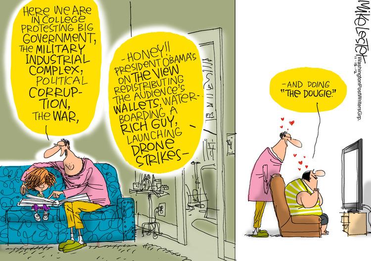 Mike Lester for Nov 15, 2012 Comic Strip