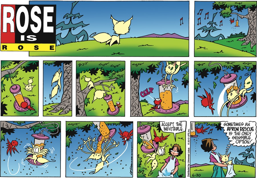 Rose is Rose Comic Strip for June 30, 2013
