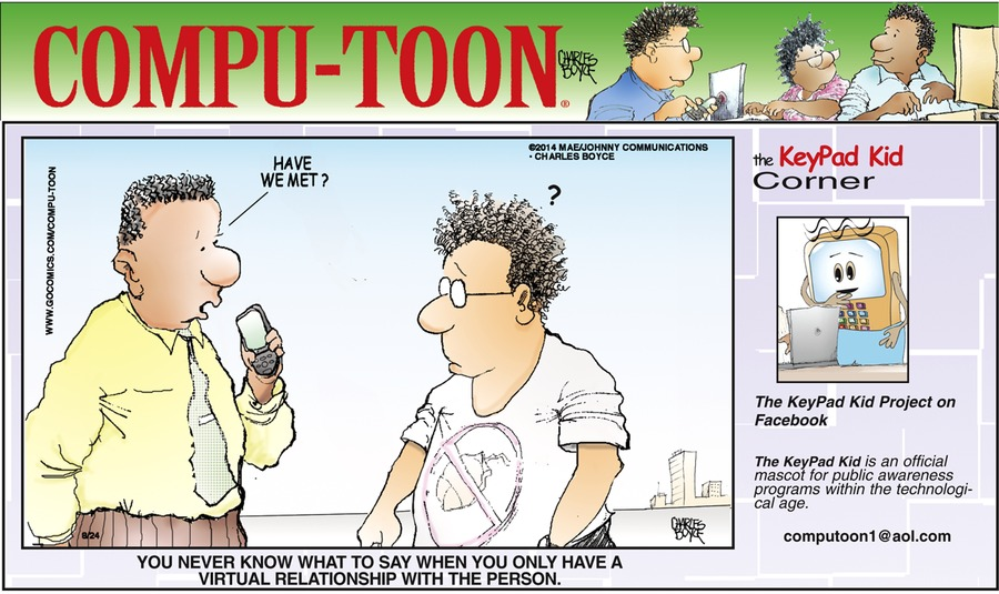Compu-toon for Aug 24, 2014 Comic Strip