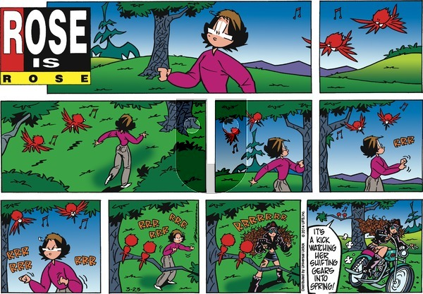 Rose is Rose on Sunday March 23, 2014 Comic Strip
