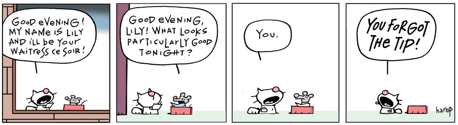 Ten Cats Comic Strip for January 14, 2021