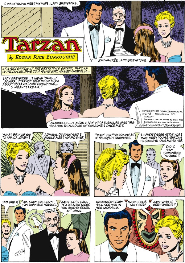 Collectible Print of tarzan