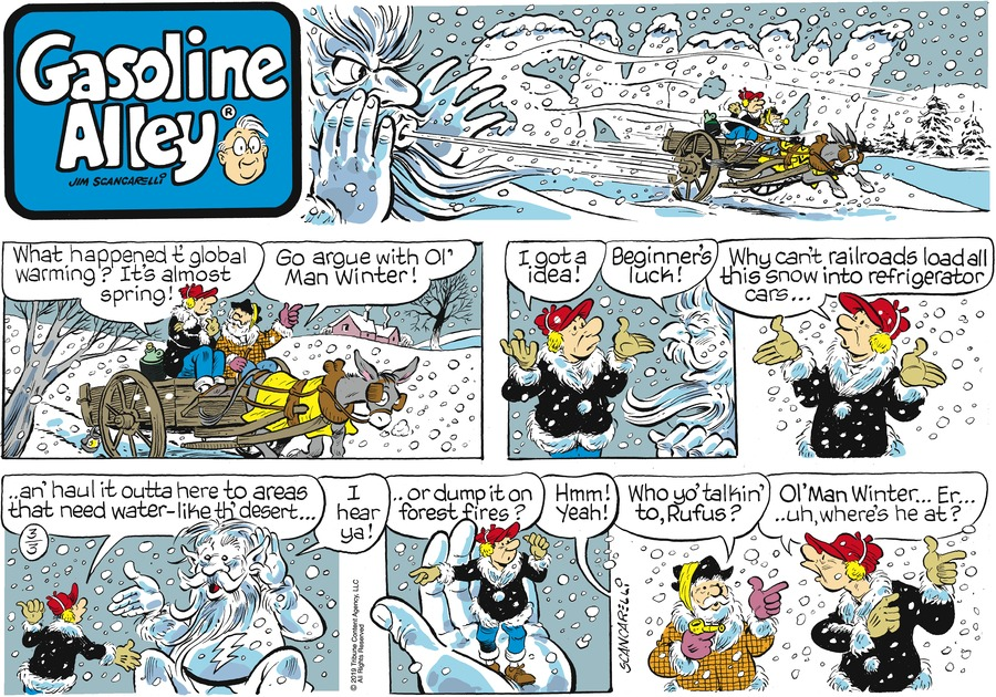 Gasoline Alley by Jim Scancarelli for March 03, 2019