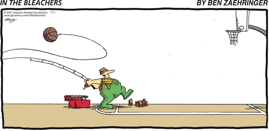 In the Bleachers Comic Strip for July 11, 2021
