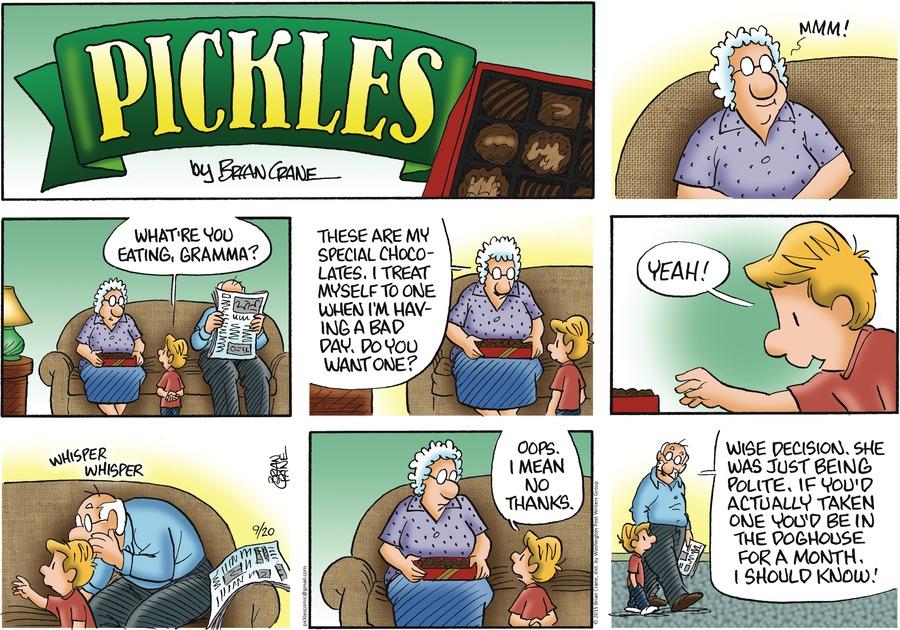 Pickles Comic Strip for September 20, 2015