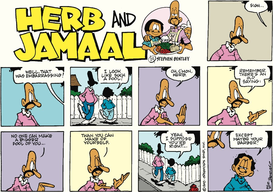 Herb and Jamaal by Stephen Bentley on Sun, 23 May 2021