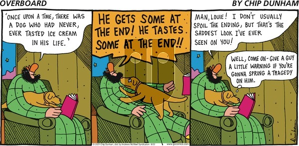Overboard on Sunday August 22, 2021 Comic Strip