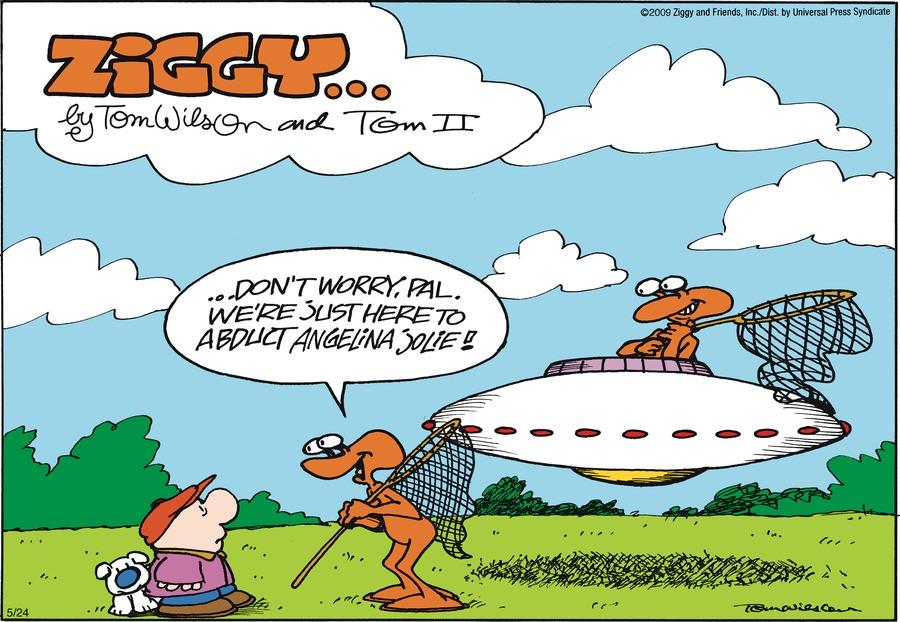 Ziggy Comic Strip for May 24, 2009