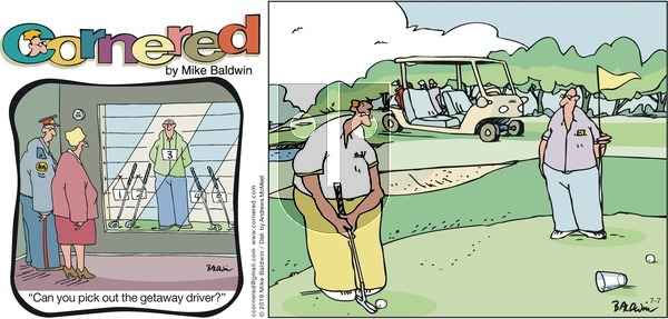 Cornered on Sunday July 7, 2019 Comic Strip
