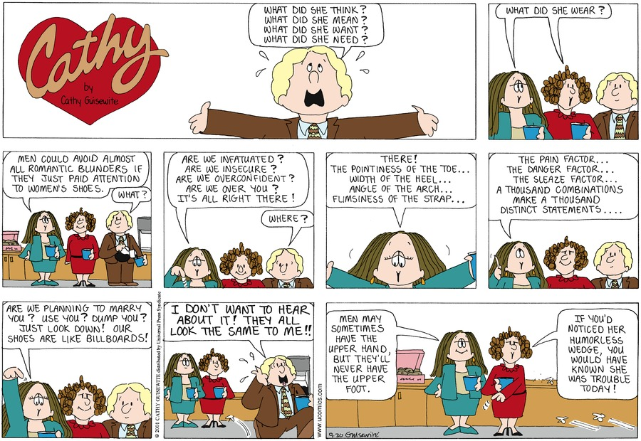 Cathy for Sep 30, 2012 Comic Strip