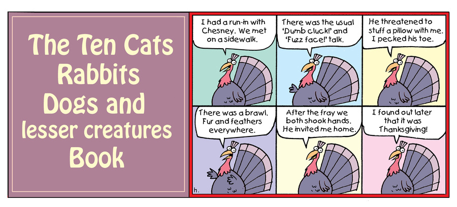 Ten Cats by Graham Harrop for May 24, 2019