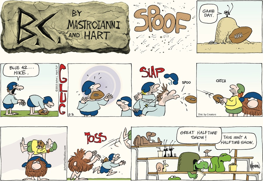 B.C. for Feb 3, 2013 Comic Strip