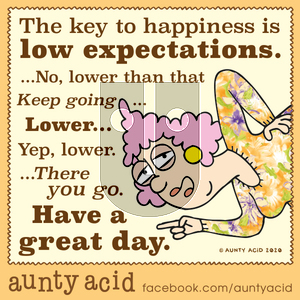 Aunty Acid - Tuesday January 14, 2020 Comic Strip