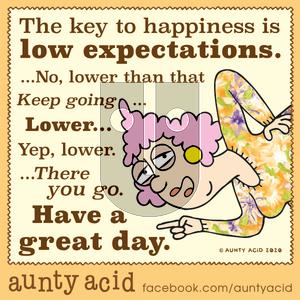 Aunty Acid on Tuesday January 14, 2020 Comic Strip