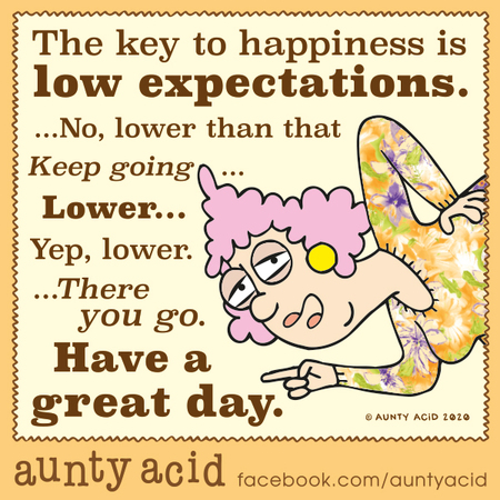 Aunty Acid Comic Strip for January 14, 2020
