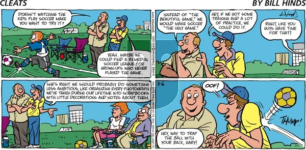 Cleats on Sunday May 6, 2007 Comic Strip