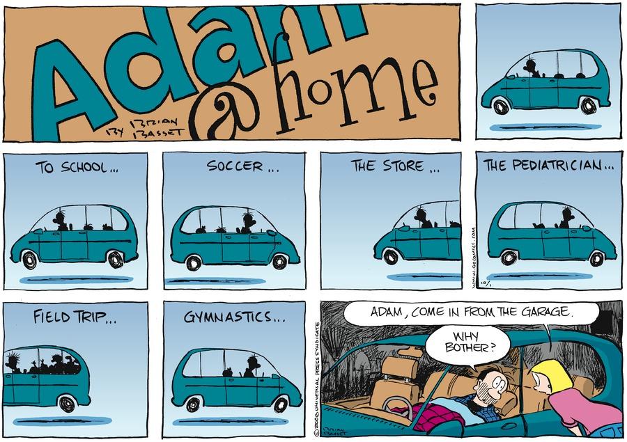 Adam@Home Comic Strip for October 01, 2006