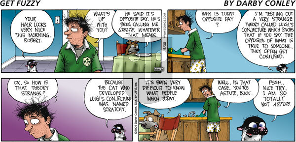 Get Fuzzy on Sunday May 30, 2004 Comic Strip