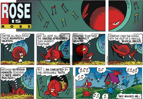 Rose is Rose on Sunday March 19, 2017 Comic Strip