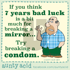 Aunty Acid on Sunday October 27, 2019 Comic Strip