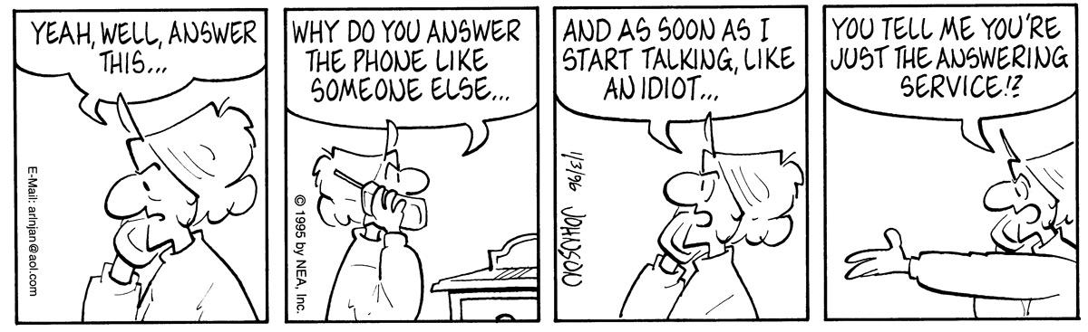 Arlo and Janis for Jan 3, 1996 Comic Strip