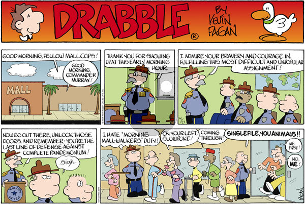 Drabble on Sunday April 27, 2008 Comic Strip