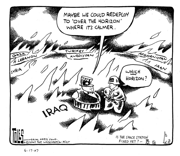 Tom Toles Comic Strip for June 17, 2007