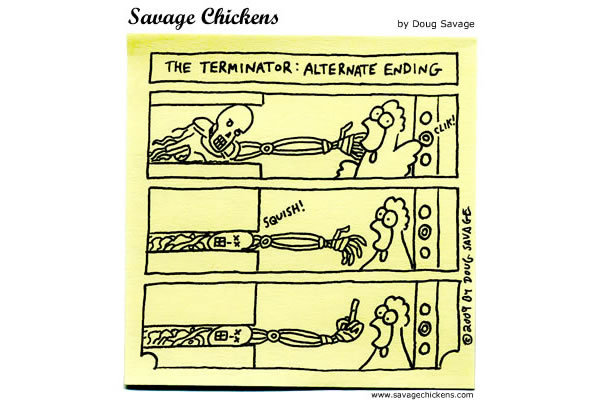 Savage Chickens Comic Strip for February 05, 2013