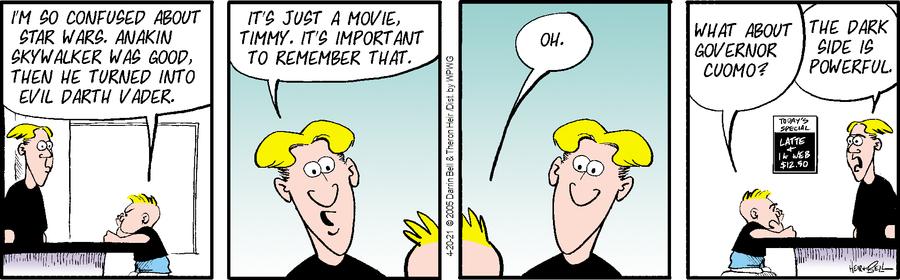 Rudy Park Comic Strip for April 20, 2021