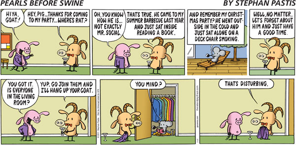 Collectible Print of pearls before swine