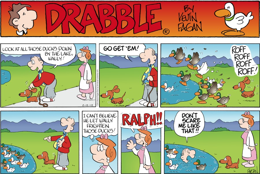 Drabble for Feb 12, 2012 Comic Strip