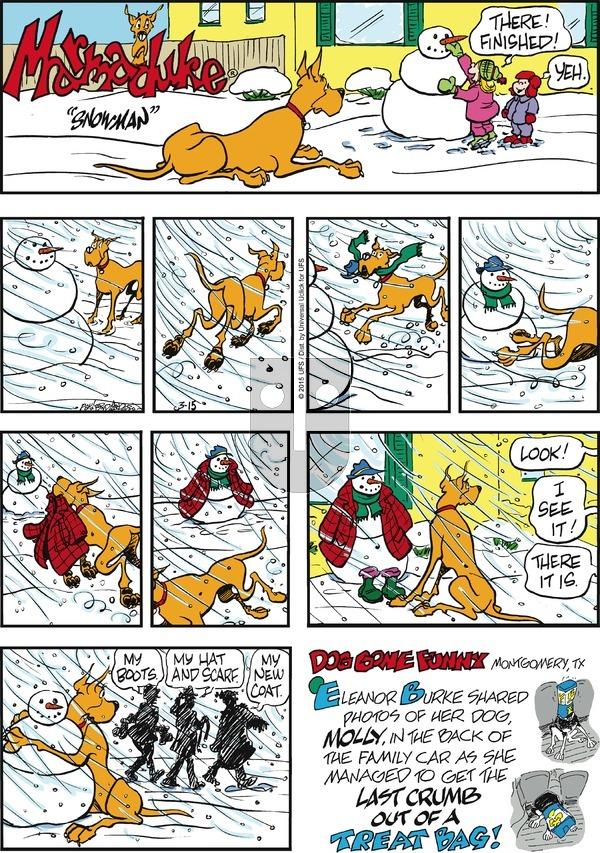 Marmaduke on Sunday March 15, 2015 Comic Strip