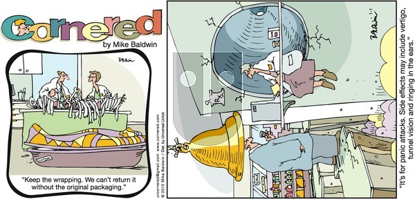 Cornered on Sunday January 1, 2012 Comic Strip