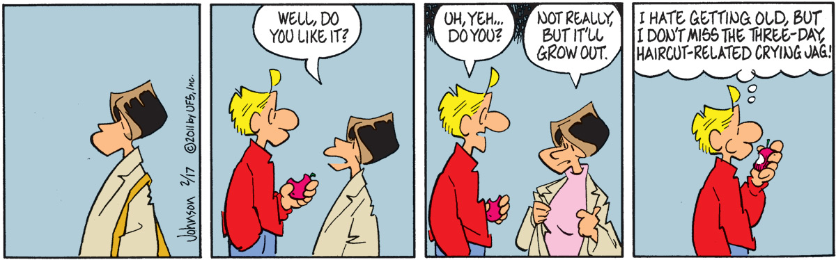 Arlo and Janis Comic Strip for February 17, 2011