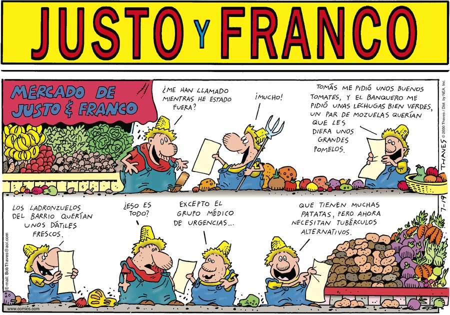 Justo y Franco by Thaves on Sun, 19 Jul 2020