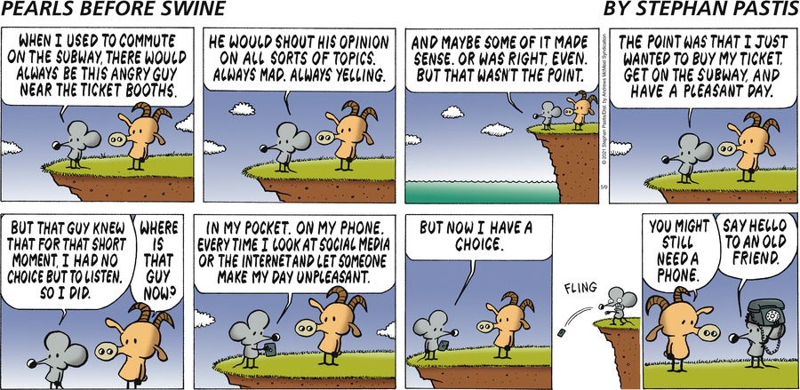 Pearls Before Swine Comic Strip for May 09, 2021