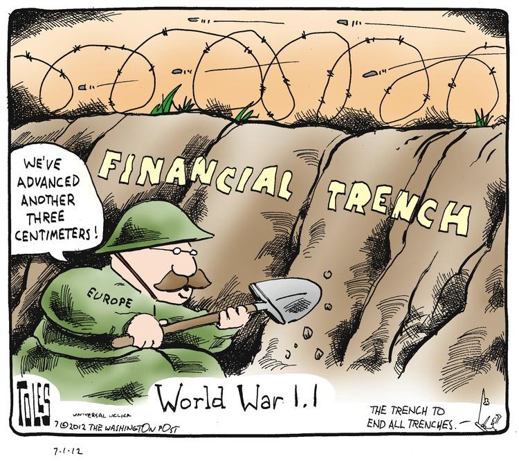 Tom Toles for Jul 1, 2012 Comic Strip
