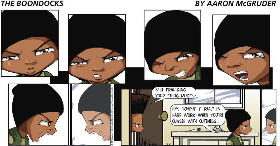 The Boondocks for May 2, 1999 Comic Strip