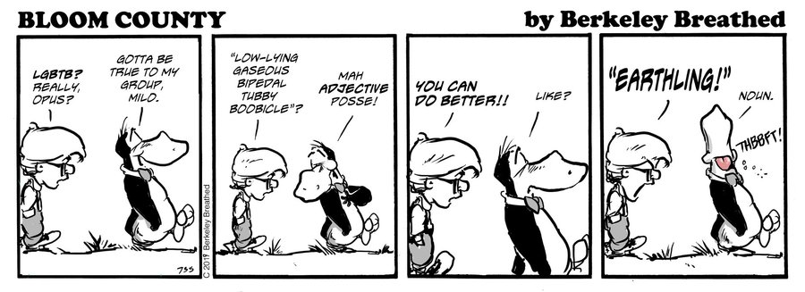 Bloom County 2018 by Berkeley Breathed for February 04, 2019
