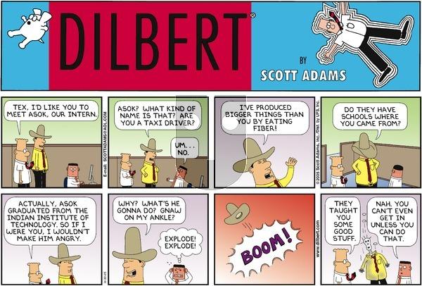 Dilbert - Sunday October 30, 2005 Comic Strip