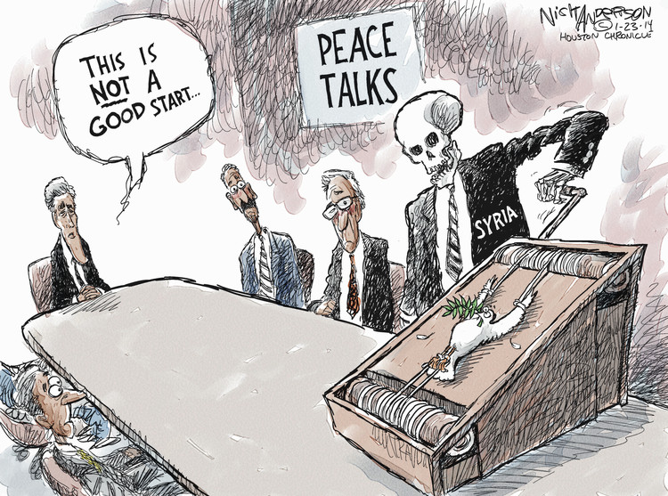 Nick Anderson Comic Strip for January 23, 2014