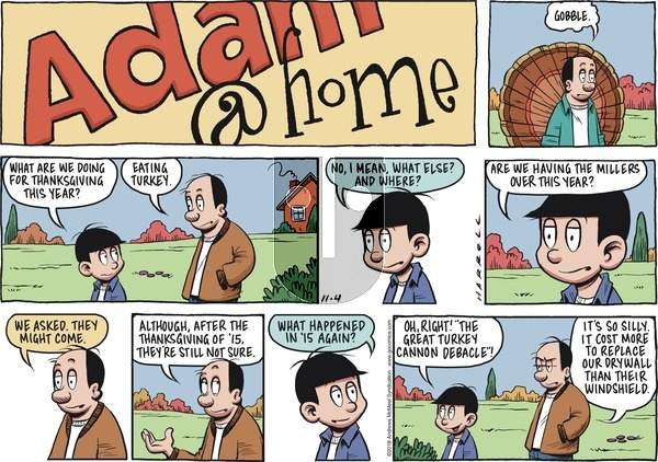 Adam@Home on November 4, 2018 Comic Strip