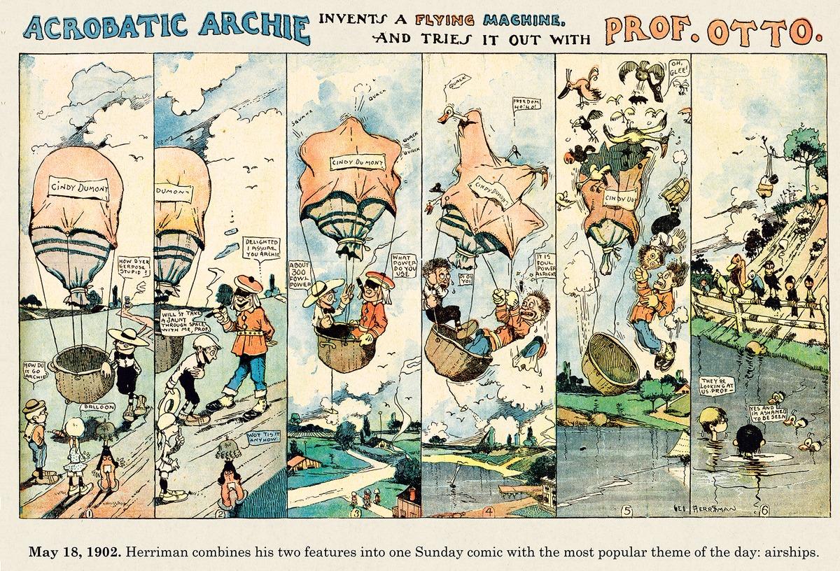 Origins of the Sunday Comics Comic Strip for January 26, 2014