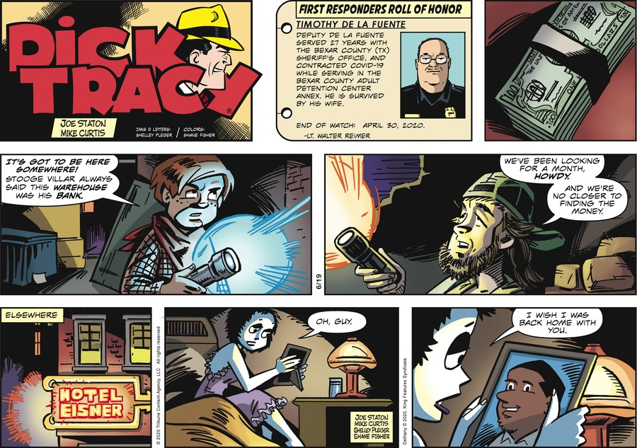 Dick Tracy by Joe Staton and Mike Curtis on Sun, 19 Jul 2020