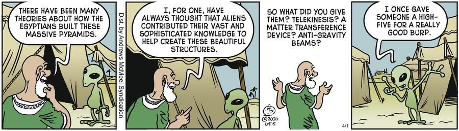 Alley Oop Comic Strip for April 01, 2020